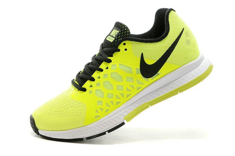 Big Boys Shoe Youth Nike Air Zoom Pegasus 31 Volt Black  55ba0bf82