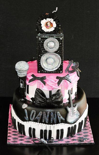 Wondrous 125 Music Themed Cakes Music Cakes Themed Cakes Personalised Birthday Cards Akebfashionlily Jamesorg