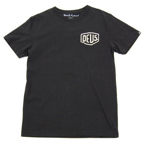 Deus Venice Address T-Shirt - Black www.westgoods.co