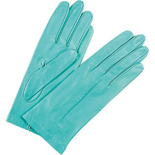 Tiffany Blue gloves ~ need these to go with the Wellies!