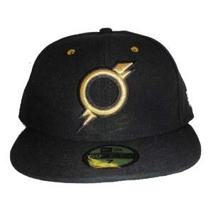 85ba8db2ba5 Omaha Storm Chasers New Era Storm Chasers Fitted Hat AWAY