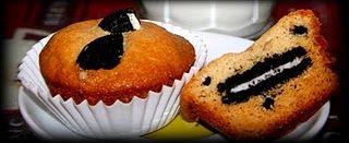 Oreo and Cream muffins
