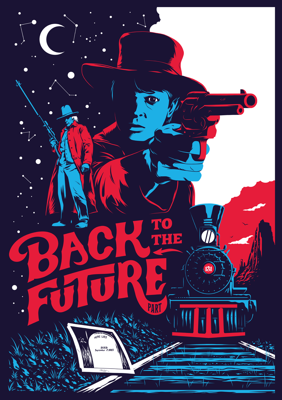 1.21 GIGAWATTS: Back to the Future III Poster on Behance