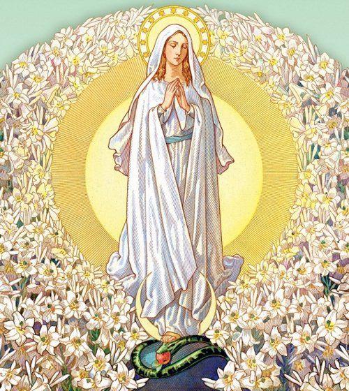 aeec498d52 Inmaculada concepción (María fue concebida sin pecado original...)