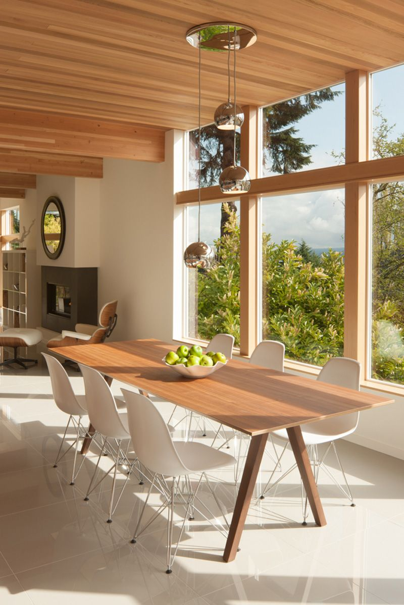 Wood White Dining Room Furniture Spotted In A Home Seattle Washington