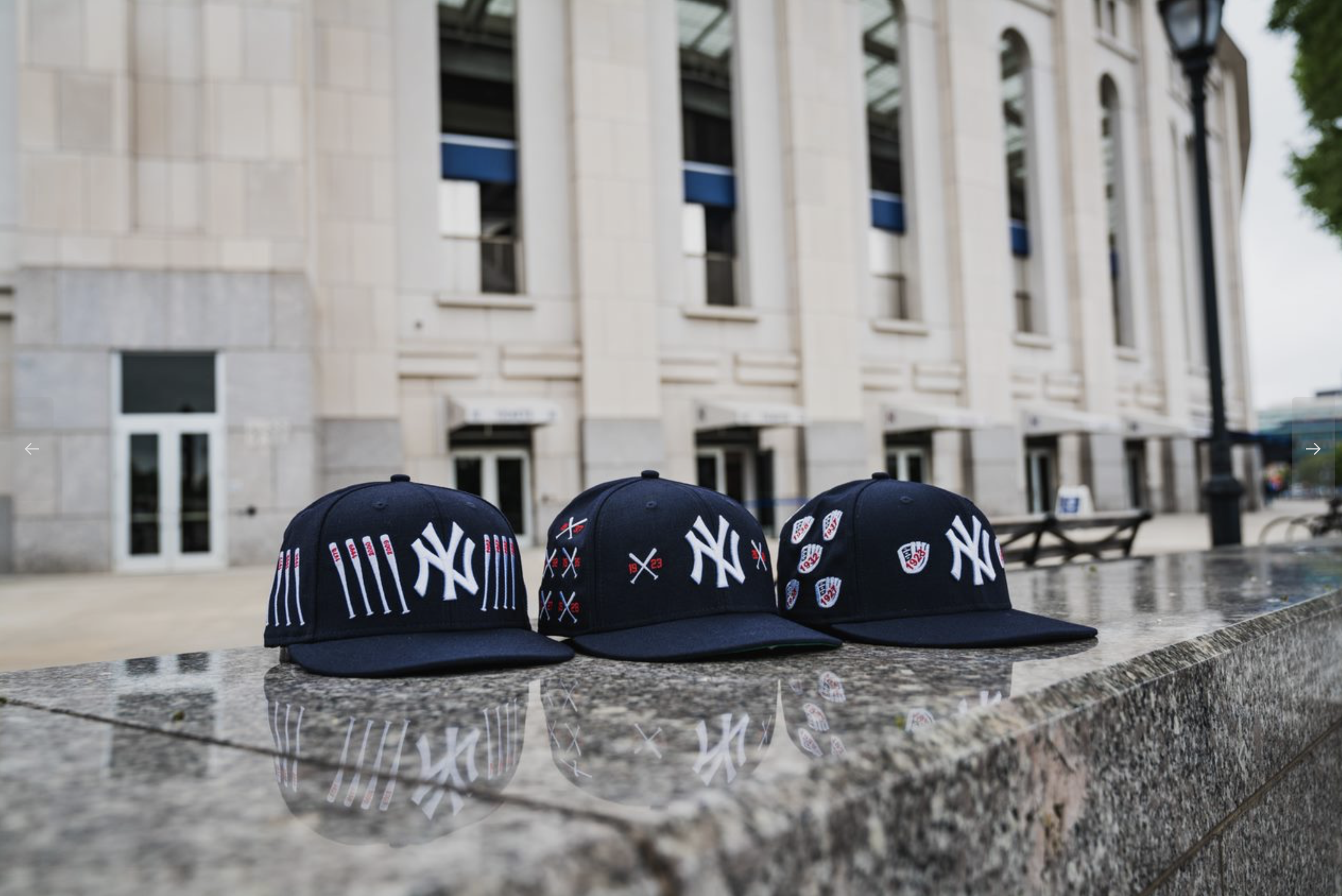 NEW ERA SPIKE LEE X NEW YORK YANKEES CHAMPIONSHIP CROSSED BAT 5950 FITTED HAT