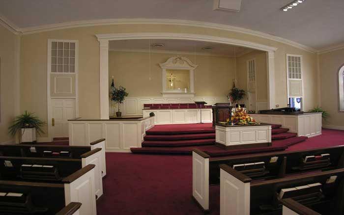 Superb Small Church Sanctuary | PROGRAM 1   COMPLETE TURN KEY RENOVATIONS