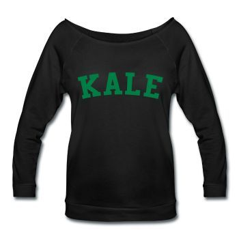Kale, Women's Wideneck Shirt