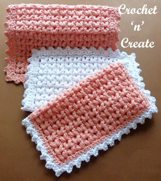 A Soft Cotton Puff Stitch Dishcloth That Some May Think Is Too