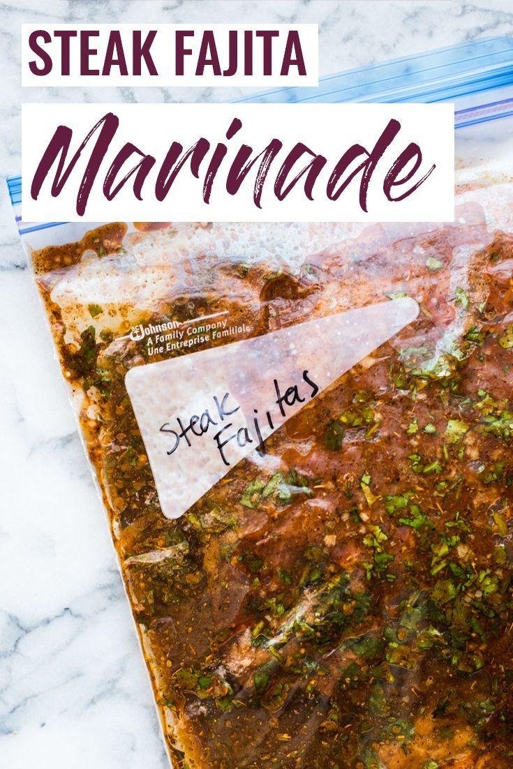 Marinade Steak Fajita - Isabel Eats {Recettes mexicaines faciles}