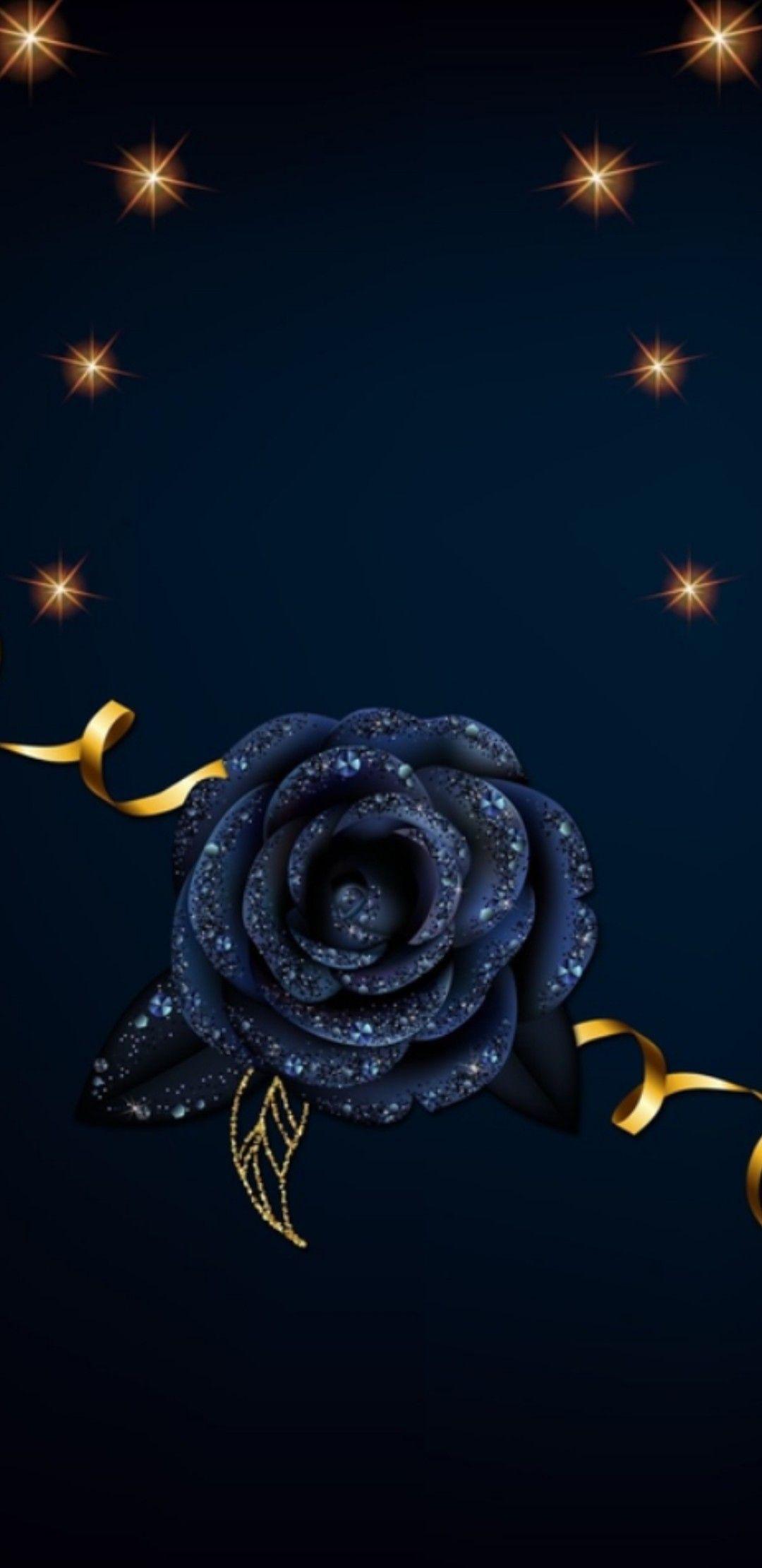 Rosa Blu Notte Phone Backgrounds Wallpaper Backgrounds Lock