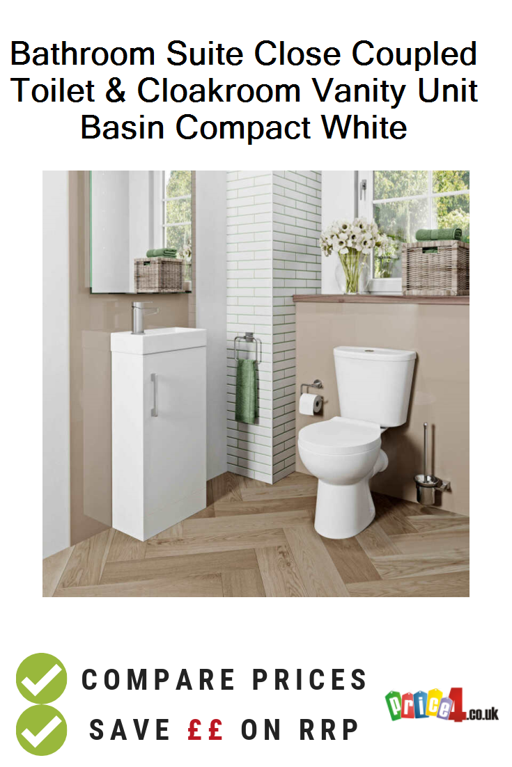 Toilet Cloakroom Vanity Unit Basin
