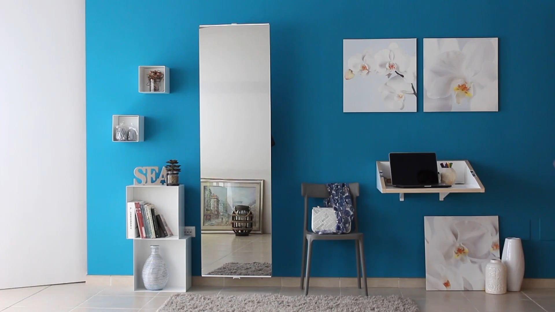 Specchio girevole con appendiabiti per ingresso Scap | ingresso casa ...