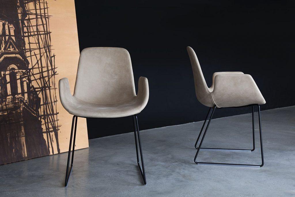 Tonon Step 904 Mit Armlehnen Und In Feinstem Leder Armlehnen Stuhl Design Stuhl Leder