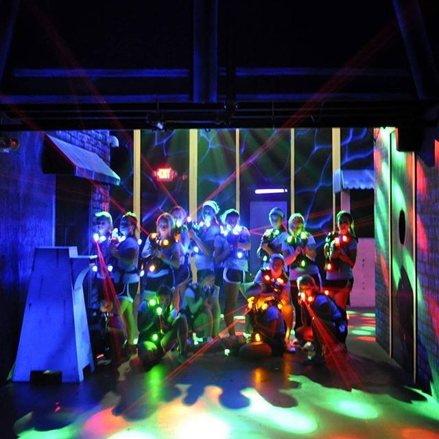 Our 2 Story 40 Player Urban Underworld Laser Tag Arena Is The Gest And Best In St Louis For Those Of You Who Have Played 7 500