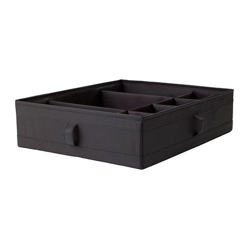 Skubb Boite A Compartiments Blanc 44x34x11 Cm Panier Ikea Boite De Rangement Et Systeme De Rangement