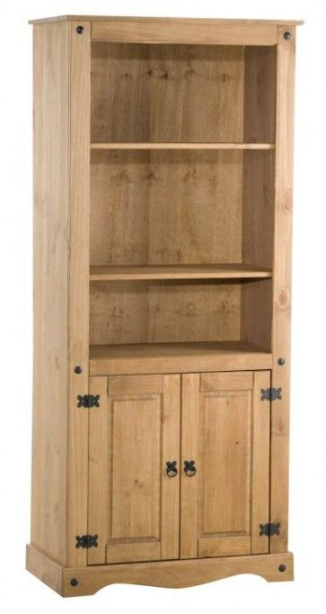Birlea Corona 2 Door Display Unit/Bookcase £154.00