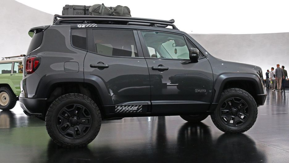 Jeep B Ute Concept Is A Tougher Renegade Jeep Renegade Trailhawk