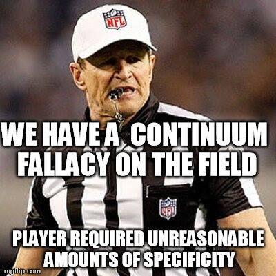 0fb63fea5cc931037f9fedb54a583e88 logical fallacy referee humor (logic ref) pinterest referee