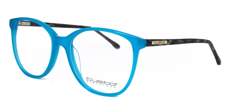 Gafas diseñadas por Custo Barcelona para Opticalia. Montura en color ...