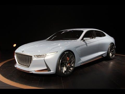 Huydai Genesis Concept Car With Images Luxury Hybrid Cars Sports Sedan Concept Cars