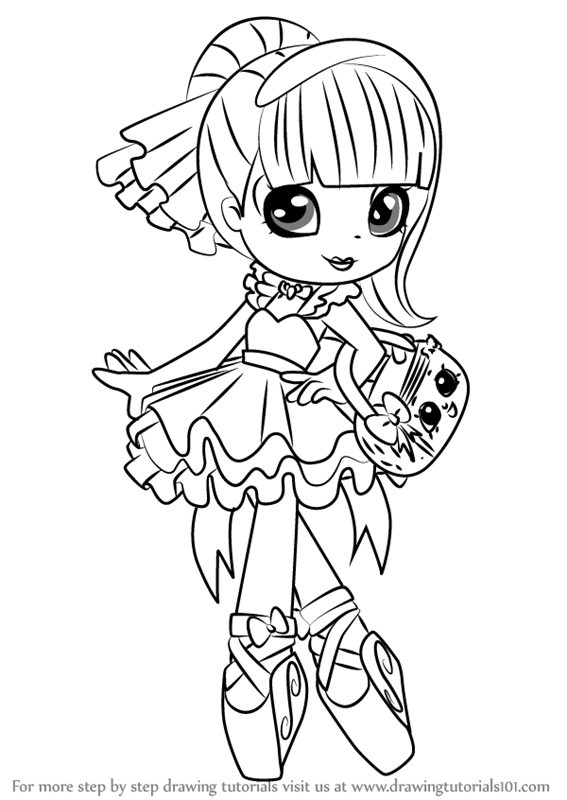 shopkins shoppies coloring pages - photo#10