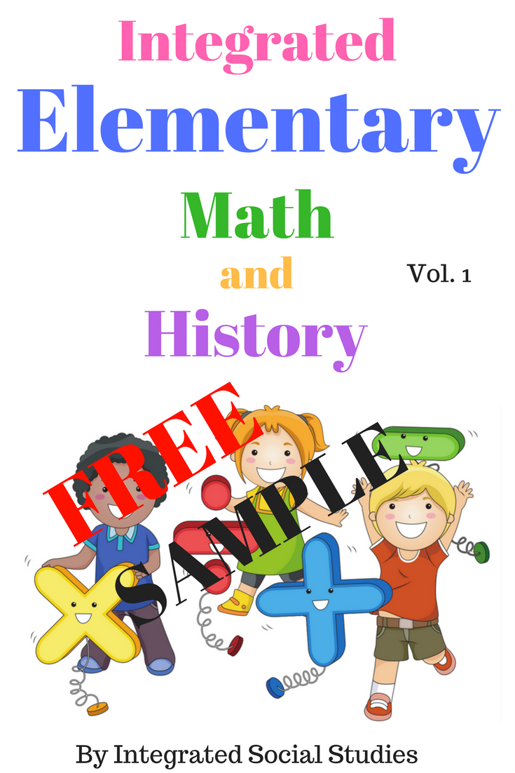 This is the free sample to Integrated Elementary Math and History ...