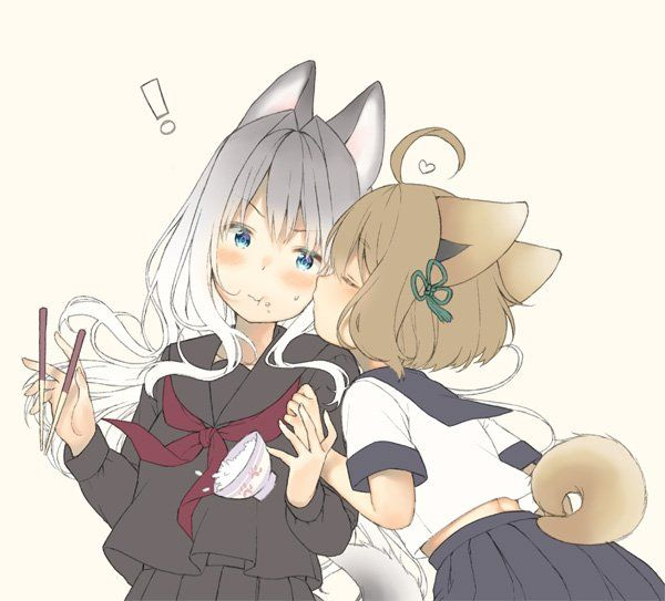 Neko Anime Lesbian Porn - Lesbian, Gay, Yuri, Neko, Lesbians