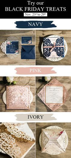 elegant wedding invitations Black Friday sale-15% OFF or 100% OFF. THE BIGGEST discount at elegantweddinginvites.