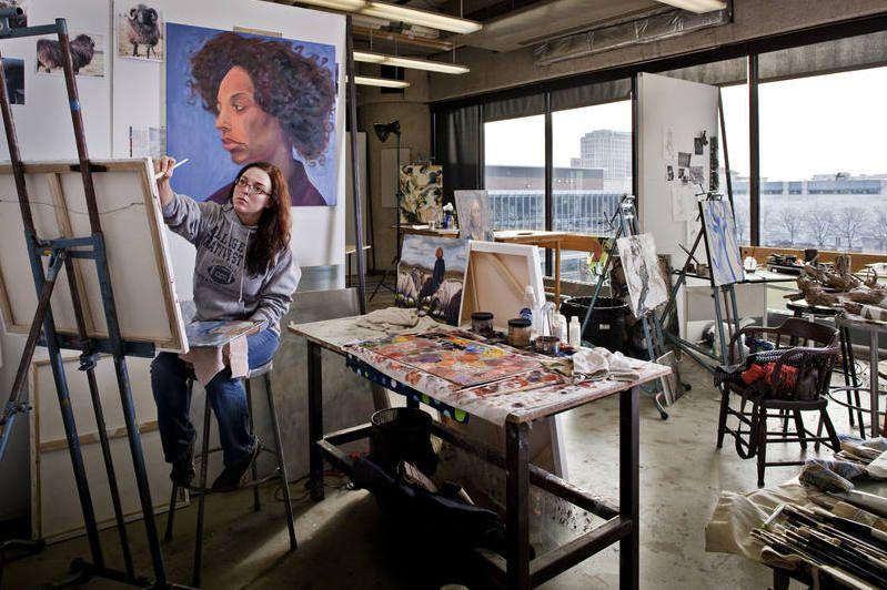 College for creative studies detroit mi approx 1400