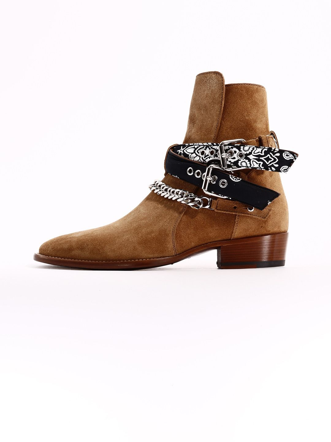 17567549d8c AMIRI TEXAN ANKLE BOOT BANDANA.  amiri  shoes