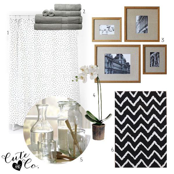 Bath Redo Freshen Up Your Bathroom Chevron Rug Polka Dot Shower - Black and white polka dot bathroom rugs for bathroom decorating ideas