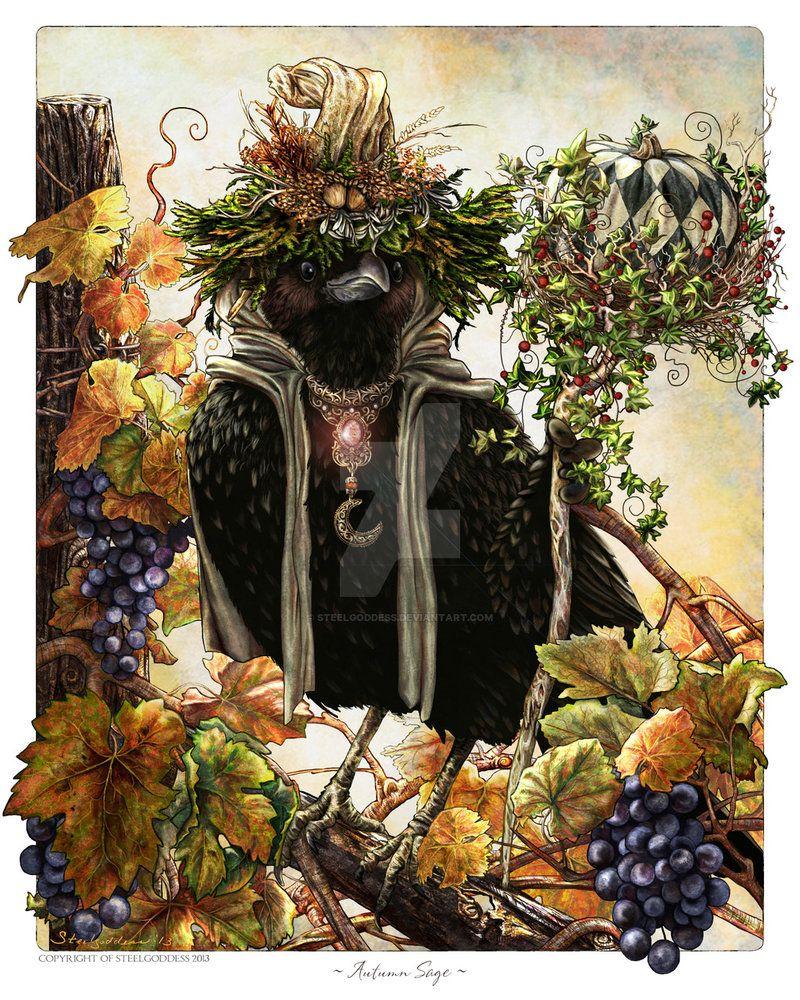 Autumn Sage by Steelgoddess on DeviantArt