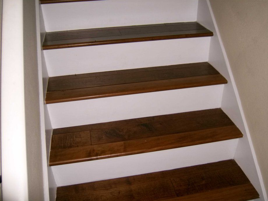 Best White Risers W Wood Stairs For The Home Pinterest 400 x 300