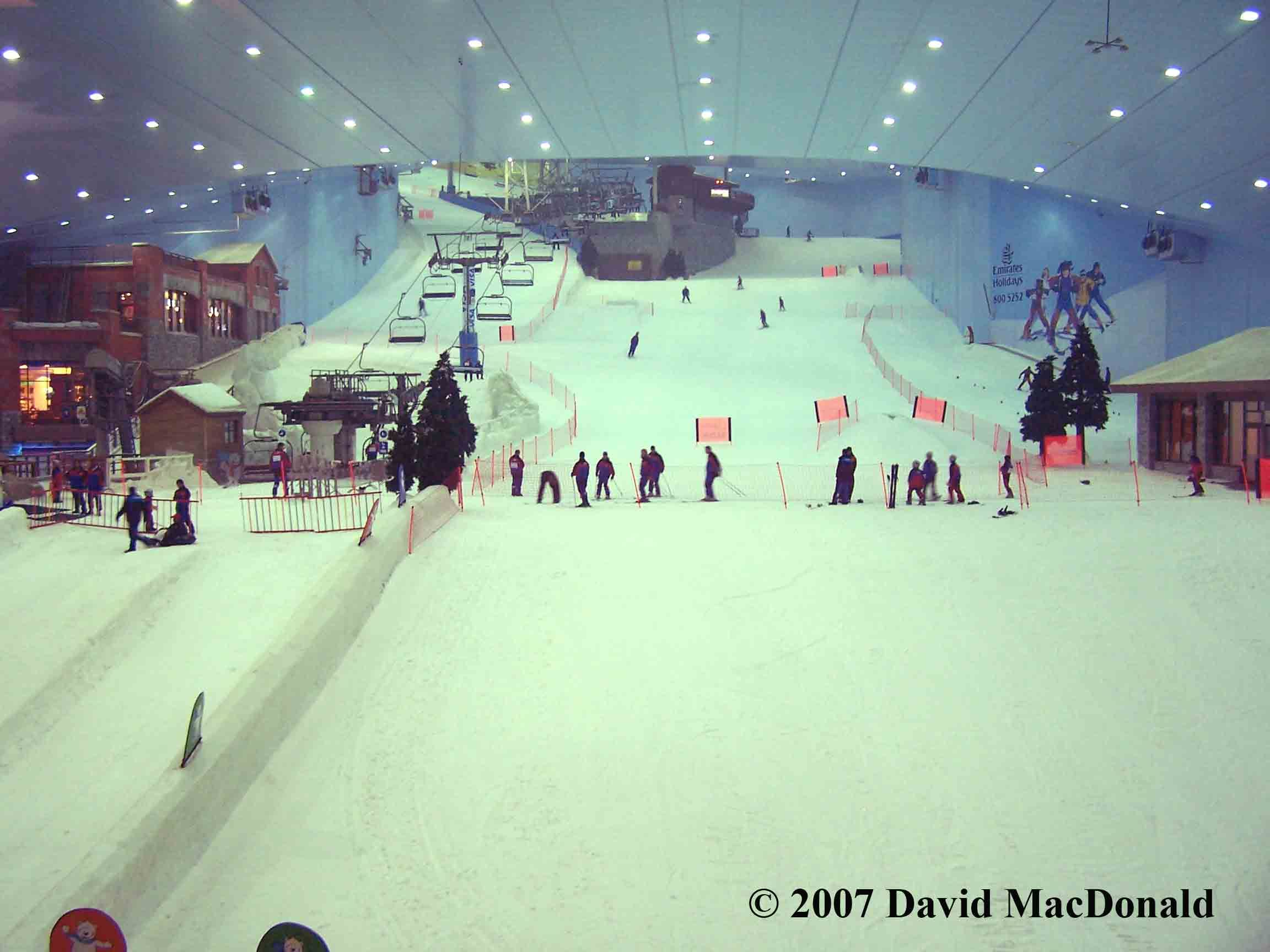 This Is The Indoor Ski Rink In Dubai It Is