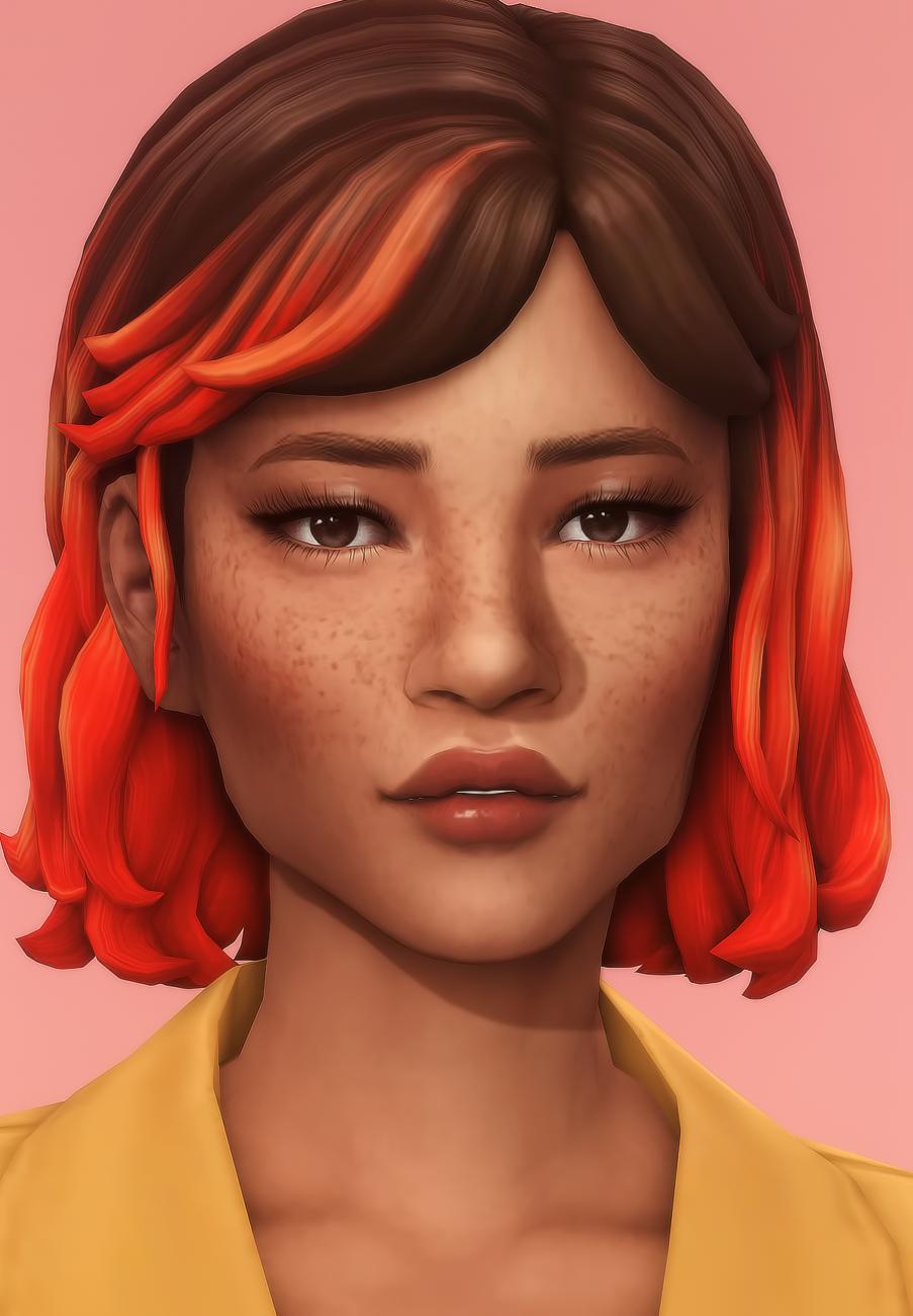 Lilianna Hair In 2020 Sims 4 Maxis Match Sims