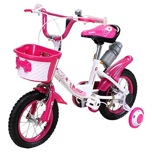 actionbikes kinderfahrrad daisy ab 3 jahren 12 zoll pink. Black Bedroom Furniture Sets. Home Design Ideas