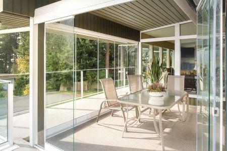 retractable glass walls porch