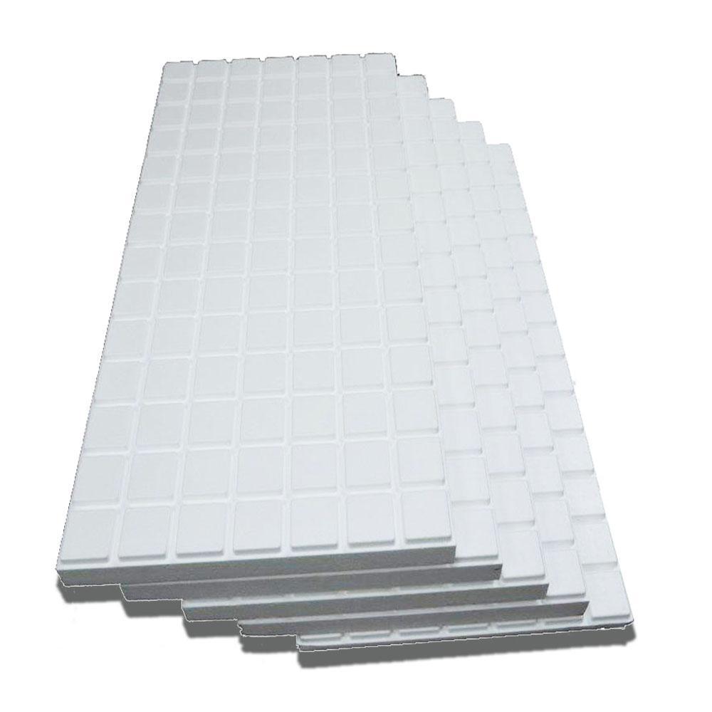 Amvic Multipurpose High Density Insulation Kit R10 2 3 8 In X 24 In X 48 In 5 Panels Amdkit001 Garage Door Insulation Garage Door Insulation Kit Door Insulation