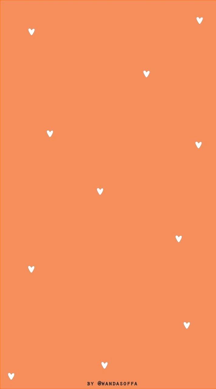 Orange Color Shared By Adriana Escobar Alomia Octoberwallpaperiphone Orange Background Foundon Cute Fall Wallpaper Iphone Wallpaper Orange Orange Wallpaper