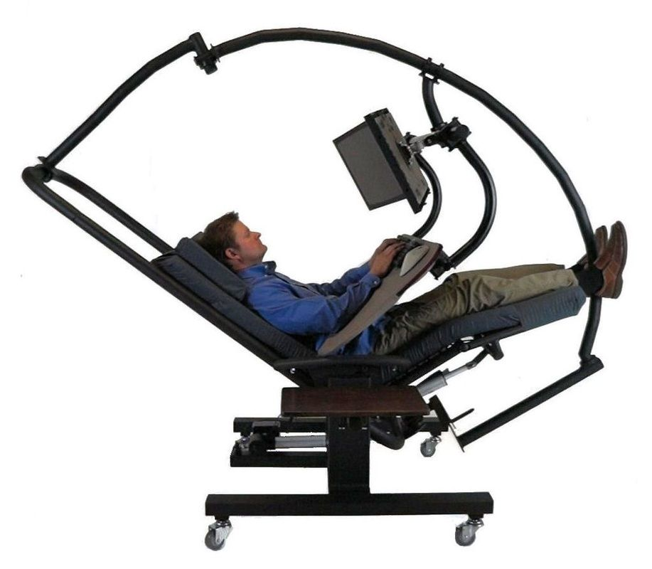 Ergoquest Zero Gravity Workstations Workstation Small Office Ergonomic Chair