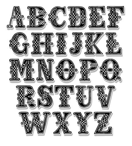 page 8 font samples on artistmikecom - Decorative Fonts