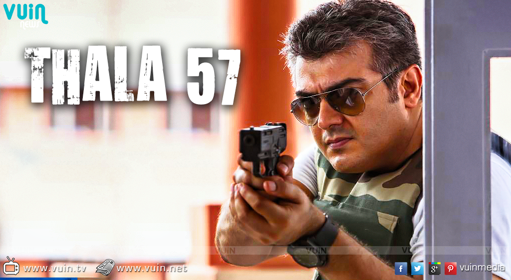Different look for Ajith in 'Thala 57′ Pics, Villain, Cinema