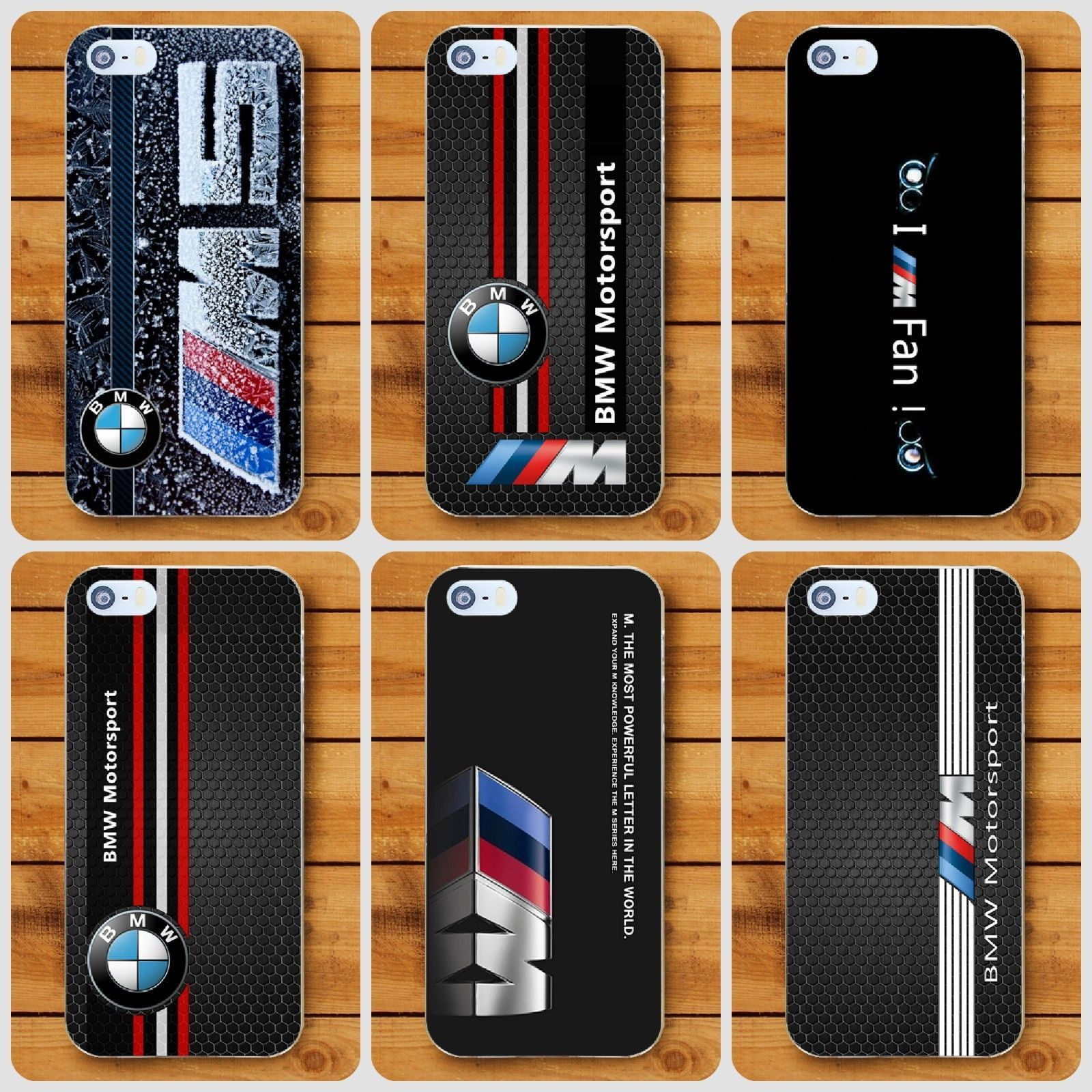 7d5076194c9 BMW M Motorsport Hard cover case For Apple iPhone 5 6 7 S plus 8 X XR XS Max