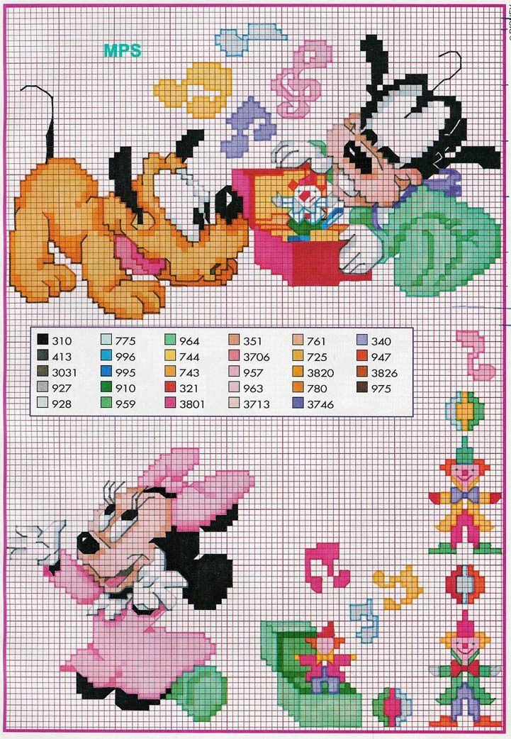 baby disney cross stitch | Cross stitch | Pinterest ...