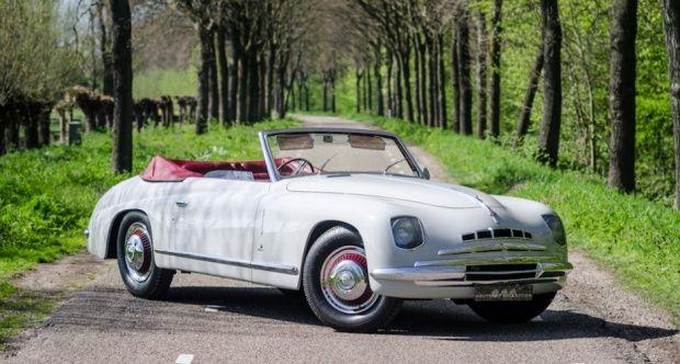 1947 Alfa Romeo 6c 2500 Sport Cabriolet I6 2 443 Cm 95 Ps