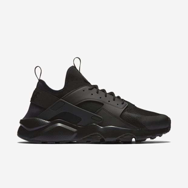 best service aa20e 18813 Nike Air Huarache Run Ultra Mens Running Shoes 13 Triple Black 819685 002  Nike…