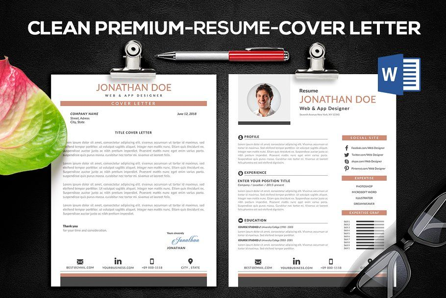 Elegant resume resumeeleganttemplatesstationery
