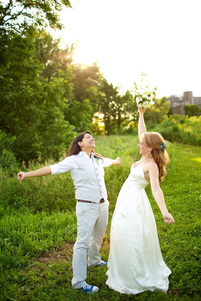 Lesbian wedding officiants ct