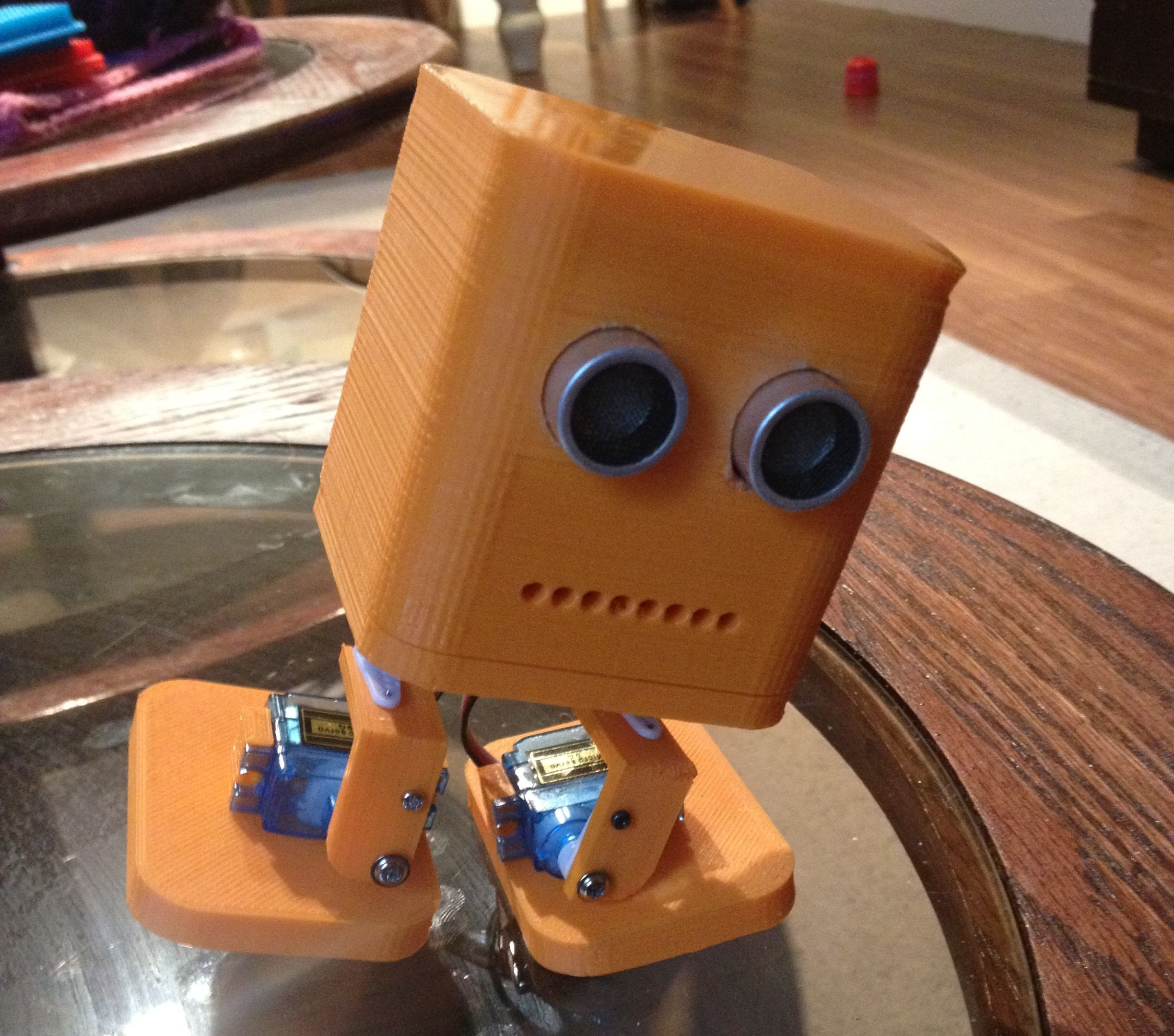 Build Your own Biped Robot